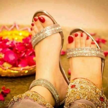 Eid Sandals Footwear Shoes Designs For Women 2015 4