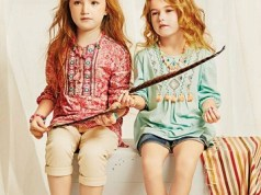 Little Kids Eid Wear Dresses Western Styles By Outfitters 2015