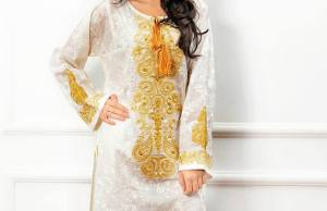 Ready To Wear Embroidered Kurtis By Zeniya 2015