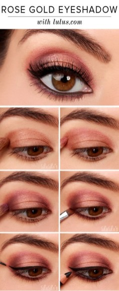 Amazing Fall Eye Makeup Ideas To Try This Winter 12