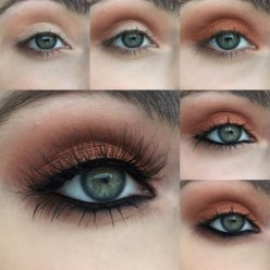 Amazing Fall Eye Makeup Ideas To Try This Winter 2