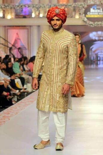 Traditional Style Groom & Bridal Wear By Arslan Iqbal 2015-16 8
