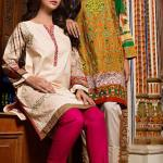 Cambric Eid Ul Azha Dresses By House Of Ittehad 2015-16