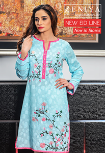 Eid Ul Azha Pret Wear Zeniya Collection 2015-16