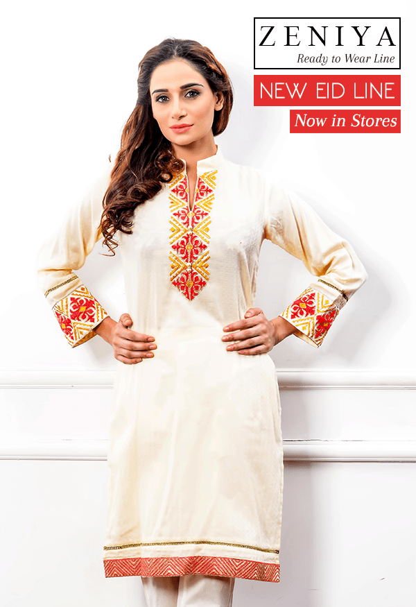stitched kurtis on eid