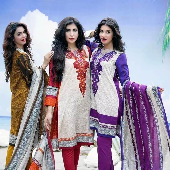 printed shalwar kameez