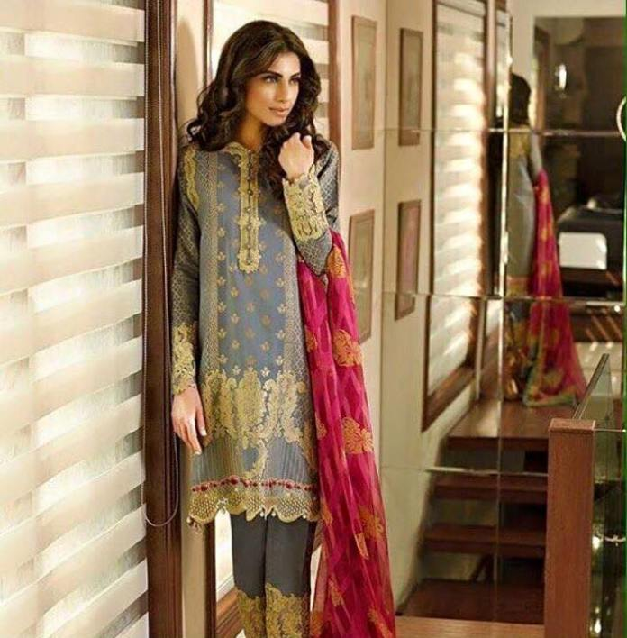 silk dresses on eid