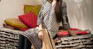 Flora Eid Ul Azha Dresses By Khaadi 2015-16