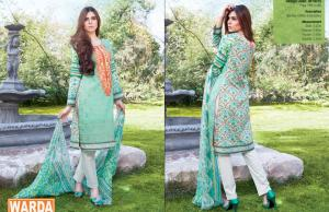 Kurti Trouser Dress By Warda For Eid Ul Azha 2015-16