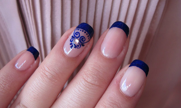 wedding nail paints