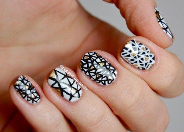 Textured Nail Art Pix For Teen Girls Makeup