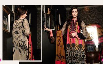 Three Piece Eid Dresses By Firdous Fashion 2015-16