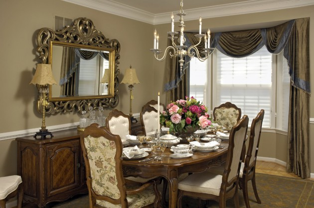 Vintage style dining room decor ideas for Vintage style dining room ideas