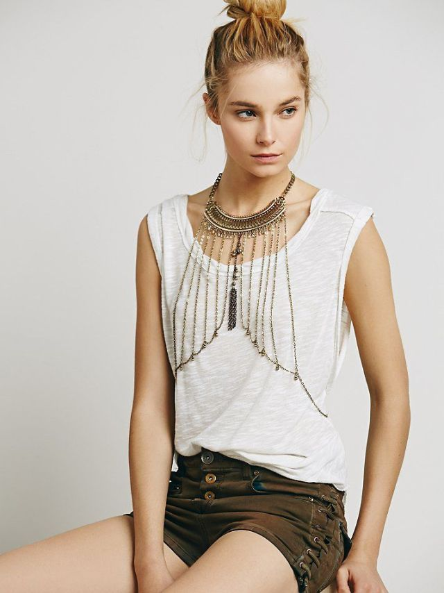 Body Chain Jewellery Styles For Women 2015-16