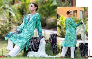 Cotton Shalwar Kameez By Sana Samia 2015-16