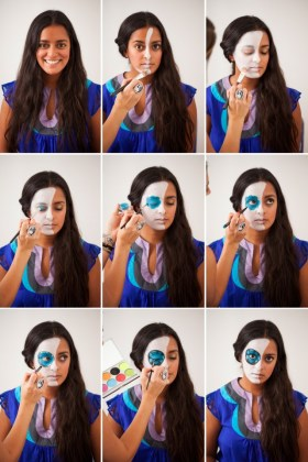 Creepy Halloween Makeup Tutorials With Pix