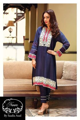 Digital Pret Kurtis By Noor Saadia 2015-16