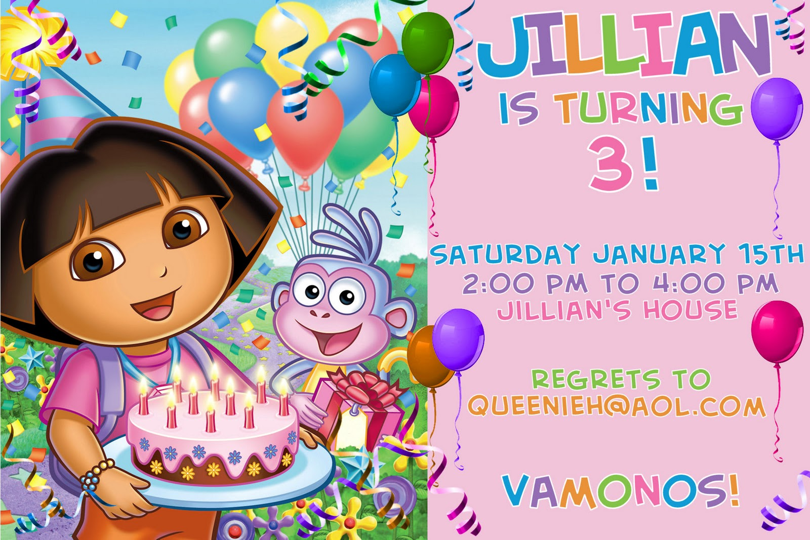 Kids birthday party invitation card ideas for your child special day designs on card bookmarktalkfo Images
