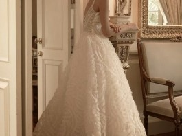 Winter Bridal Gowns Floor Length Designs By ST.Pucchi 2015