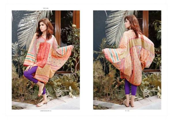 Winter Pret Kurtis For Girls By LSM Fabrics 2015-16