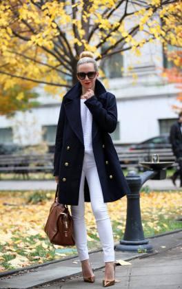 black coat trend