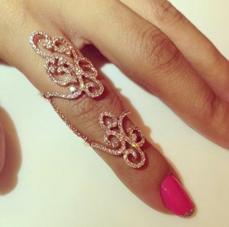 Finger Ring Trendy Jewellery Designs For Women
