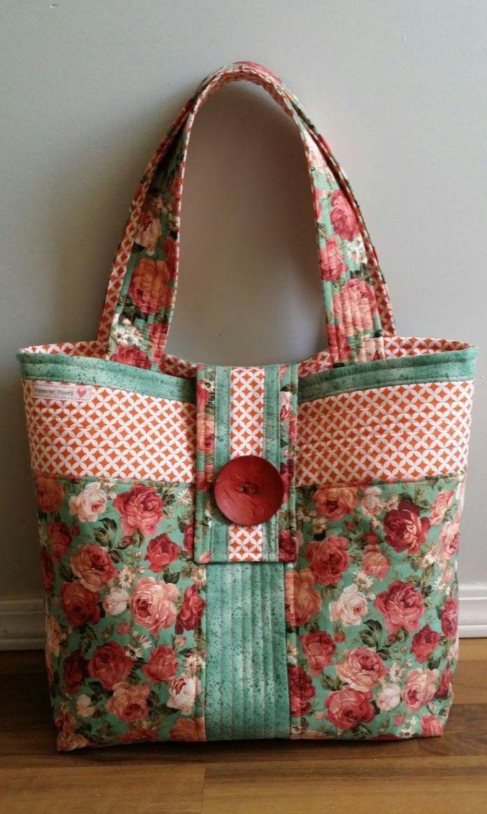 printed handbag