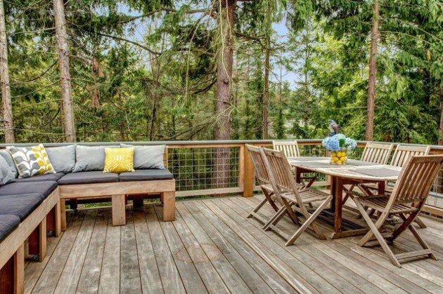 Rustic Deck Designs For Memorable Time