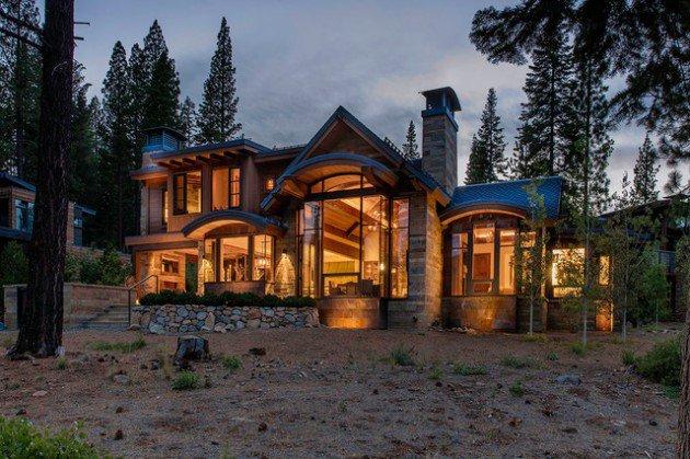 rustic exterior designs