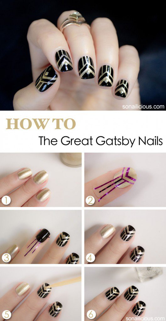 Step By Step Winter Nail Tutorials To Copy This Season 15