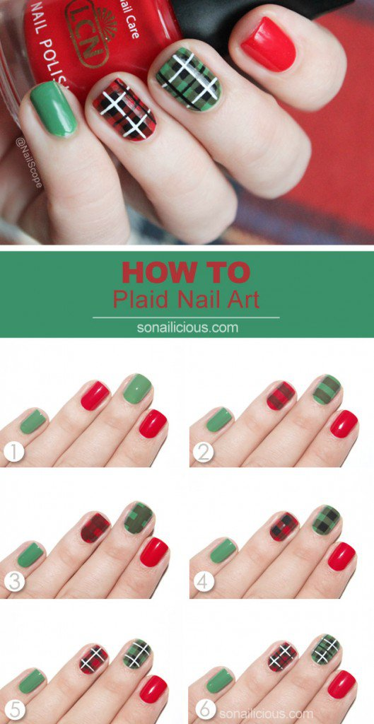 Step By Step Winter Nail Tutorials To Copy This Season 7
