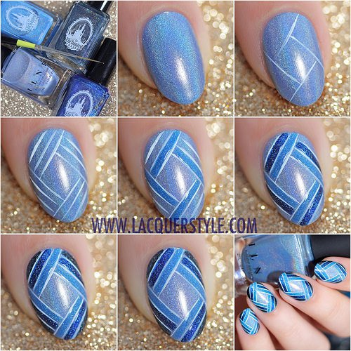Step By Step Winter Nail Tutorials To Copy This Season 8
