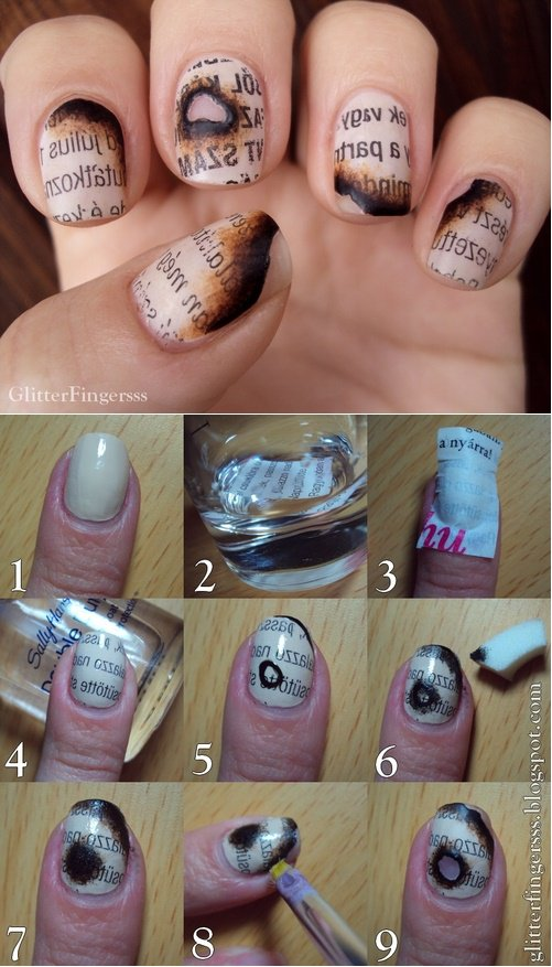 Step By Step Winter Nail Tutorials To Copy This Season 9