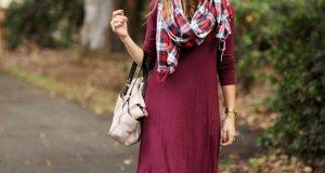 Tartan Winter Clothing Trend For Girls This Fall Season