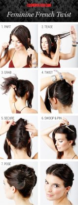 Thanksgiving Dinner Hair Tutorials Step By Step For Every Women 10