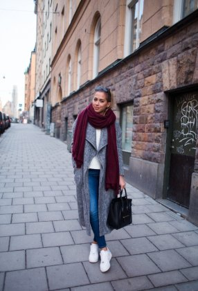 Try Burgundy Fashion Items This Fall Season For Women