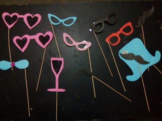 DIY Photo Booth Prop Fomic Sheet Ideas To Try By Yourself
