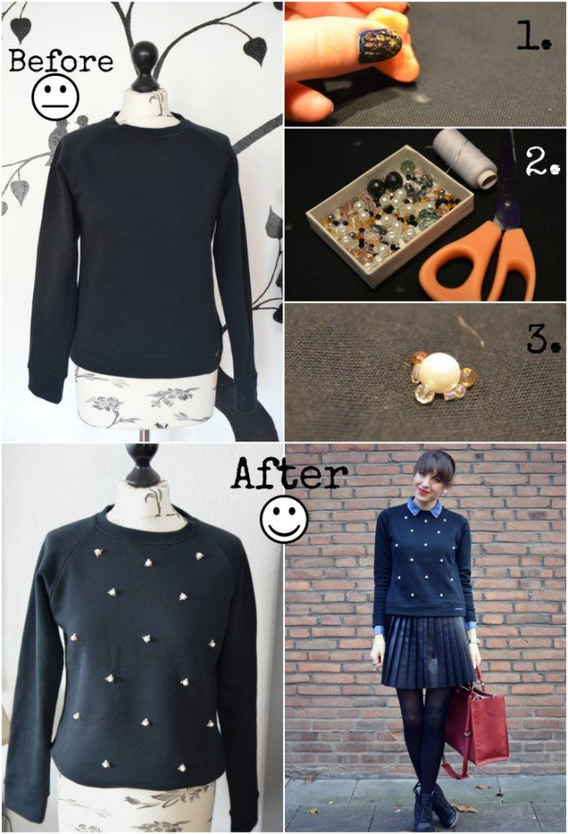 DIy sweater ideas
