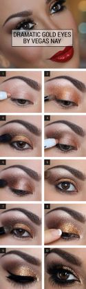 Glitter Eye Makeup Tutorials For This Season