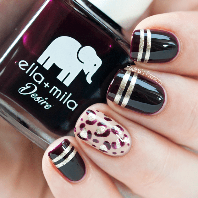 Leopard Print Nail Art Ideas For Special Events 2015 16