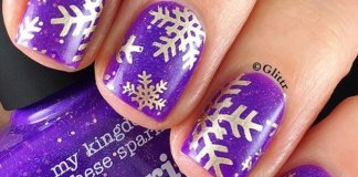 Snowflake Nail Tutorials To Look For This Season