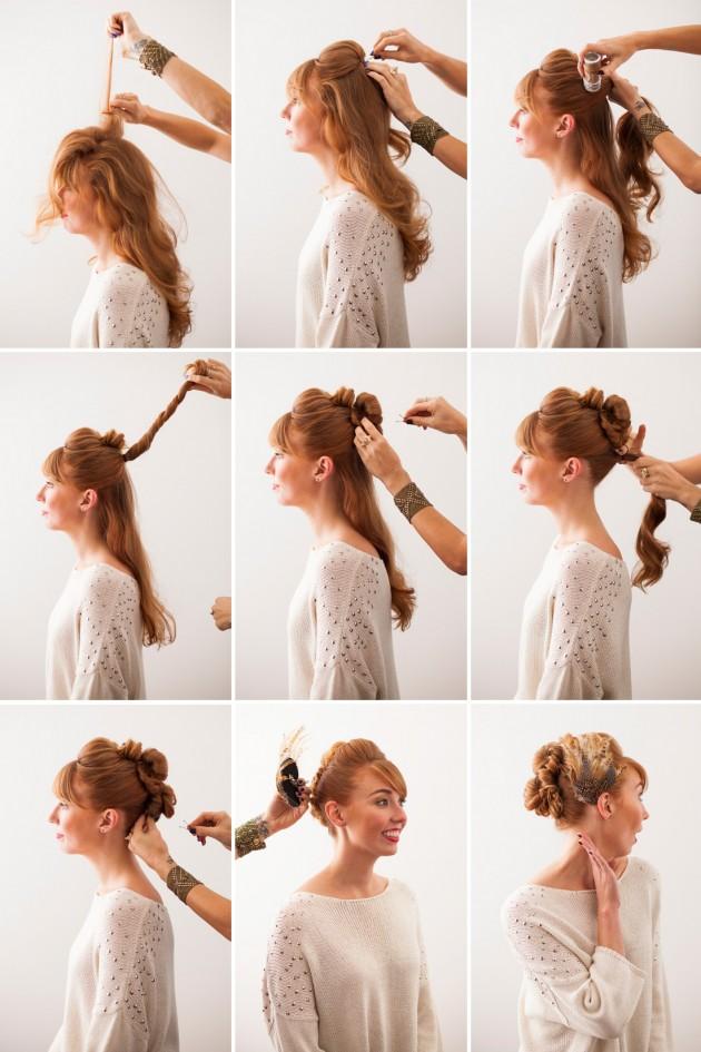 faux hawk hairstyling