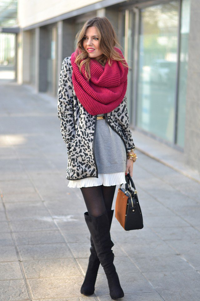 winter traveling outfits