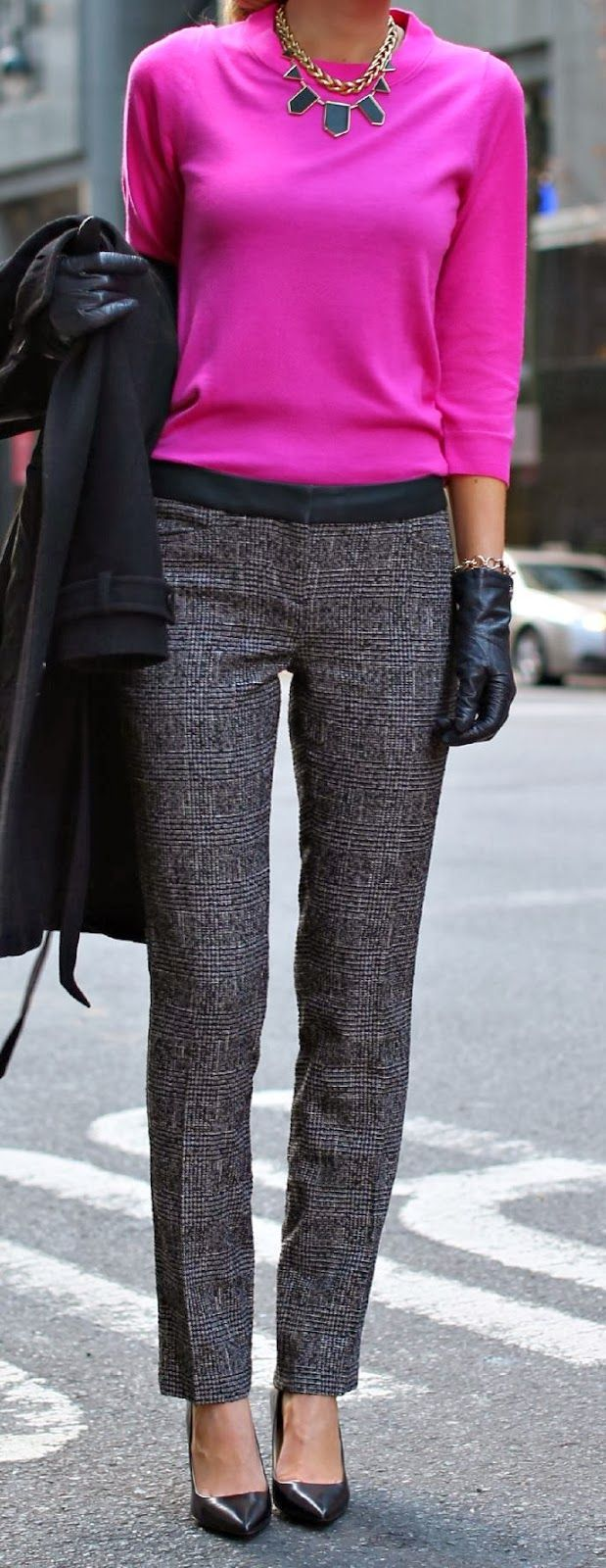 Casual pants in spring