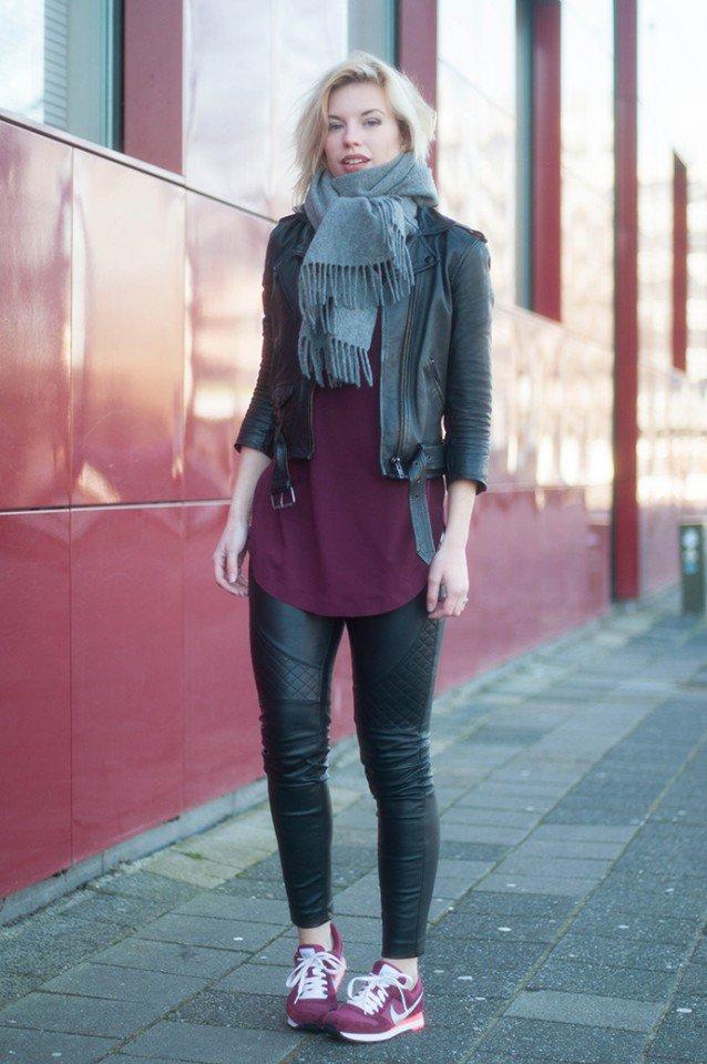 Casual winter women street style looks