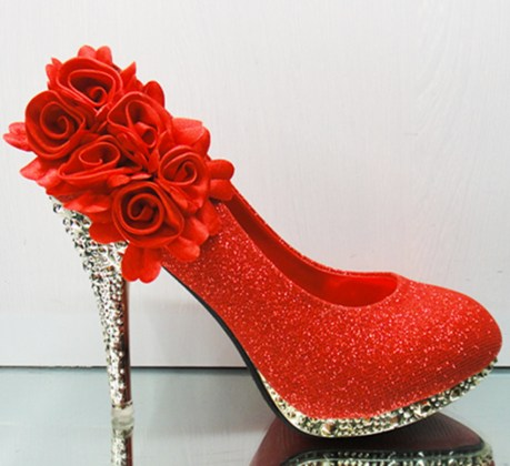 Formal high heel footwear