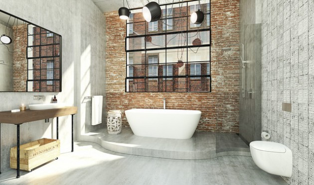 Bathroom Lighting Industrial industrial bathroom lighting with complete designs