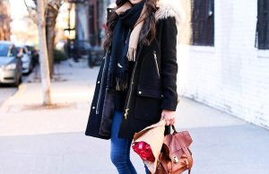 Sneakers With Winter Outfits Women Casual Wear