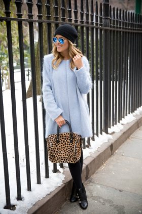 Women Collarless Coats Every Girl Should Try This Season