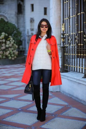 women collarless coats